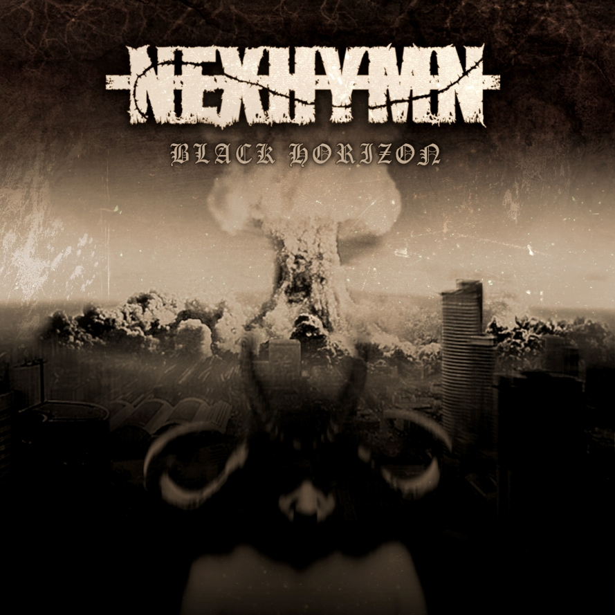 Nexhymn - black horizon front cover_