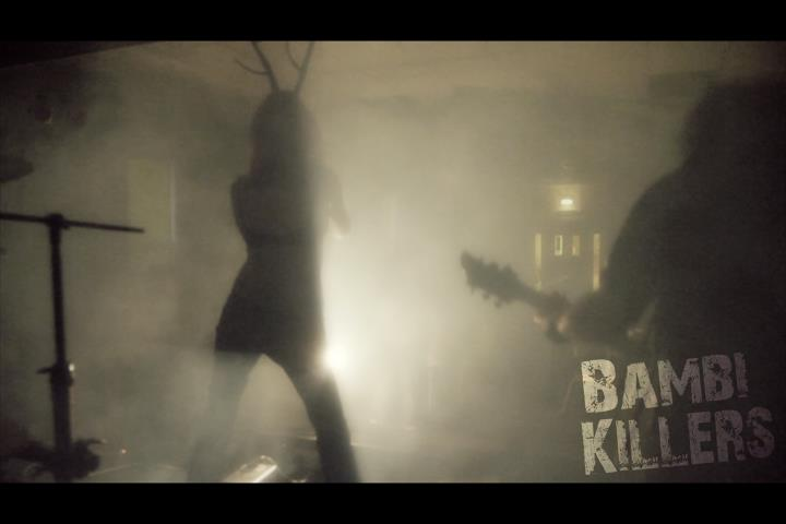 The Bambi Killers vid shot