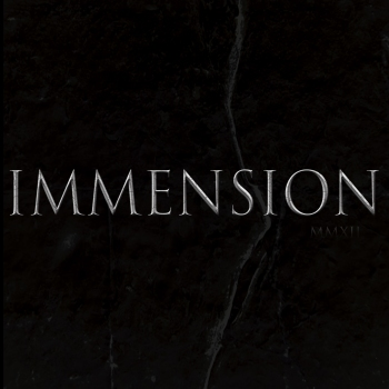 Immension Front Cover