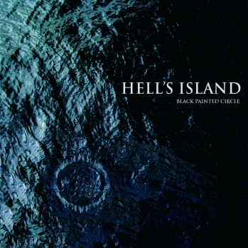 Hell's Island - Black painted circle (EP 2012) front