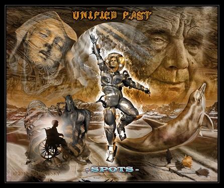 Unified Past - Spots - by Ed Unitsky