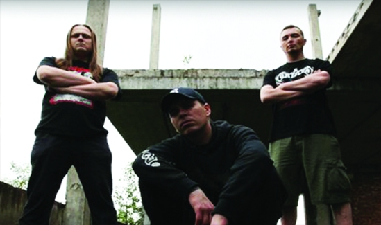 Aborted Fetus 2014 band photo