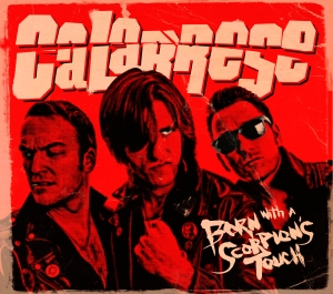 Calabrese Born With A Scorpion's Touch Album Cover
