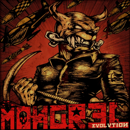 MONGREL - Evolution - front cover - scaled