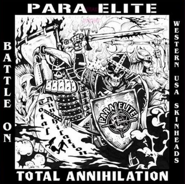 Para Elite-Total Annihialtion - Battle On - Artwork