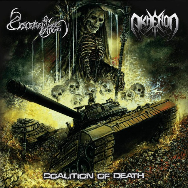 COALITION OF DEATH Cover low quality