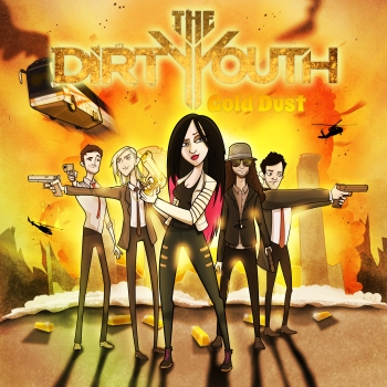 The Dirty Youth - Gold Dust Cover Artwork