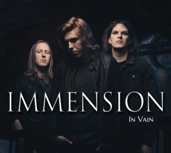 Immension Album Cover Art
