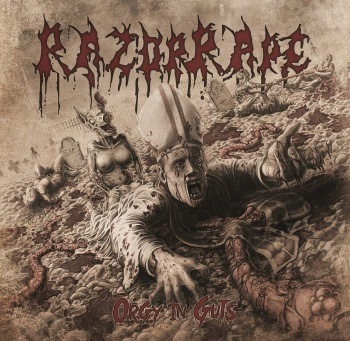 RazorRape - OrgyInGuts COVER_RingMaster Review