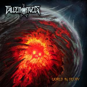Album Cover - Fallen Angels - World In Decay_RingMaster Review