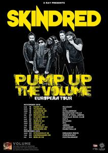 K1600_Skindred Volume 2015 Europe Dates_RingMaster Review