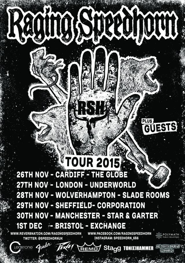 Raging Speedhorn Tour Poster 6 Small_RingMaster Review