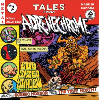 Album Cover - Adrenechrome - Tales From Adrenechrome _RingMaster Review