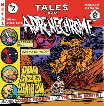 Album Cover - Adrenechrome - Tales From Adrenechrome _RingMaster Review