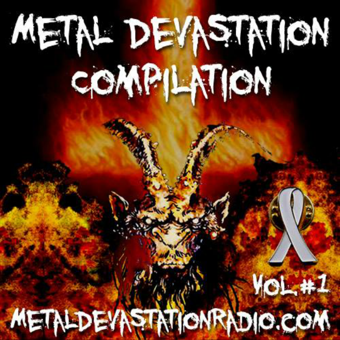 Metal Devastation Radio - Metal Devastation Compilation Vol #1 - cover_RingMaster Review
