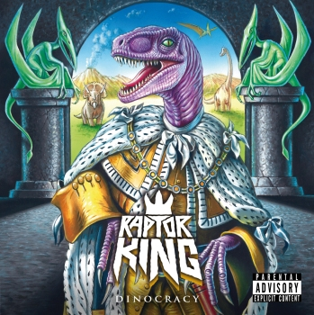 FRONT COVER RAPTOR KING DINOCRACY_RingMaster Review