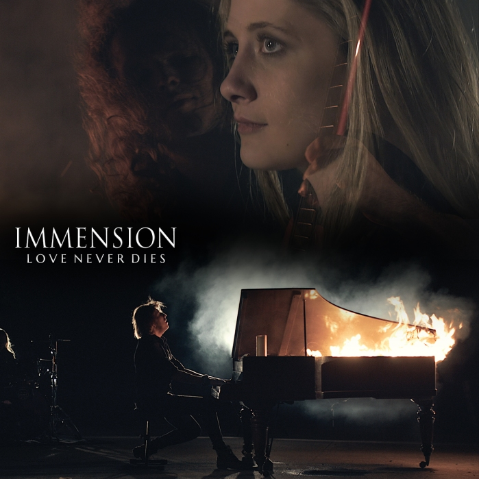 Immension - 'Love Never Dies' Single Cover_RingMaster Review