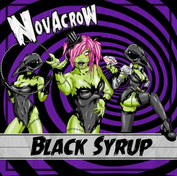Novacrow EP 2016 - Blacky Syrup Cover Art_RingMasterReview