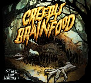 Scare The Normals - Creepy Brainfood cover_RingMasterReview